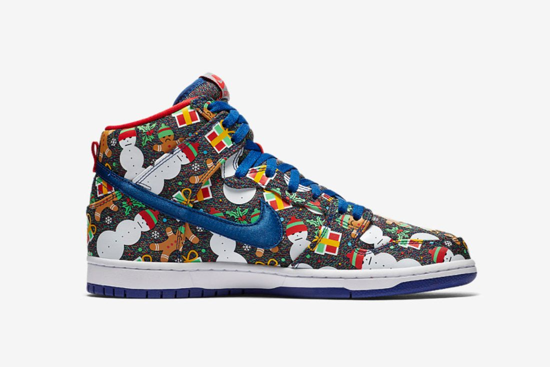 Conceptsnike Sb Ugly Christmas Sweater Dunk 5