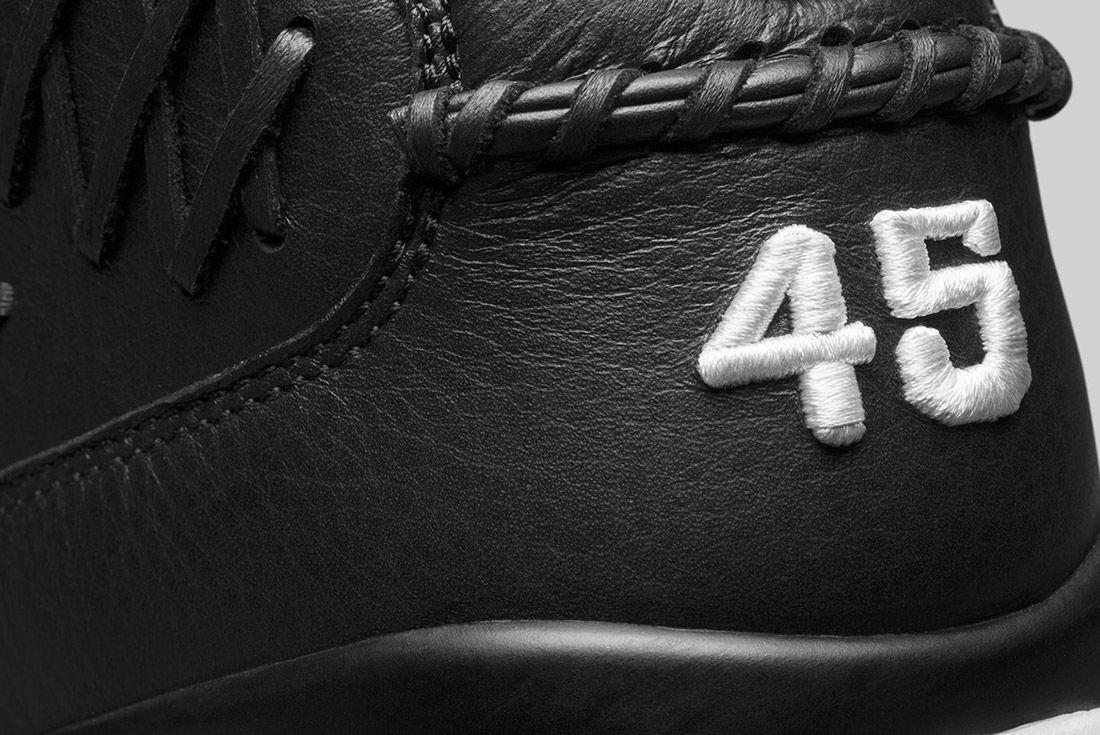 Air Jordan 6 Pinnacle Baseball Black 1