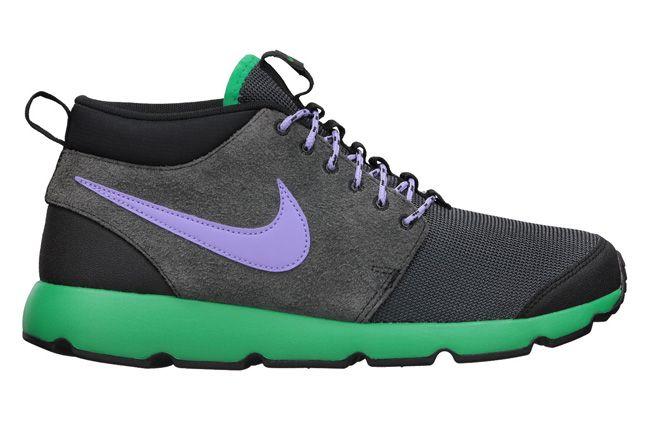 Nike Roshe Run Trail Stadium Green Side Profile 1