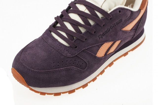 Reebok Classic Leather Suede Portrait Purple 5