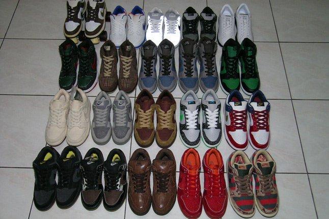 Nike Dunk Sample All 1