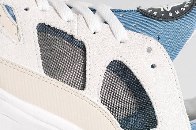 Nike Air Trainer Huarache Low Cream Blue 2