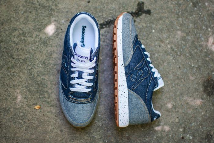 Saucony Jazz Original Dark Denim Gum 4