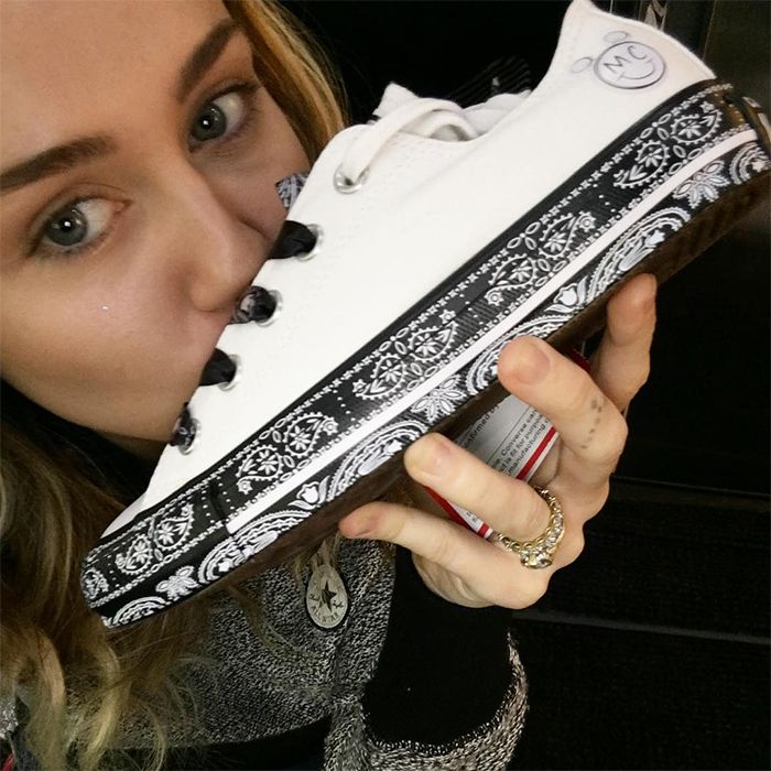 Miley Cyrus X Converse All Star Collection 2