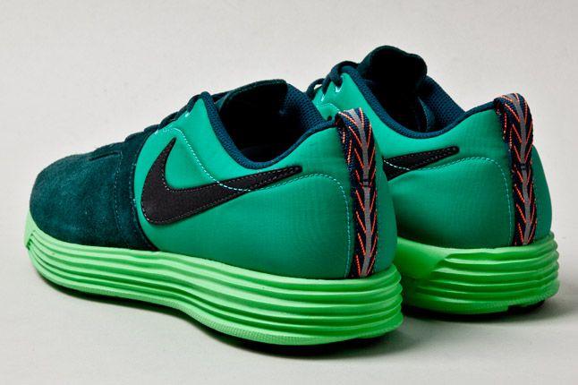 Nike Lunarmtrl Green Heels 1