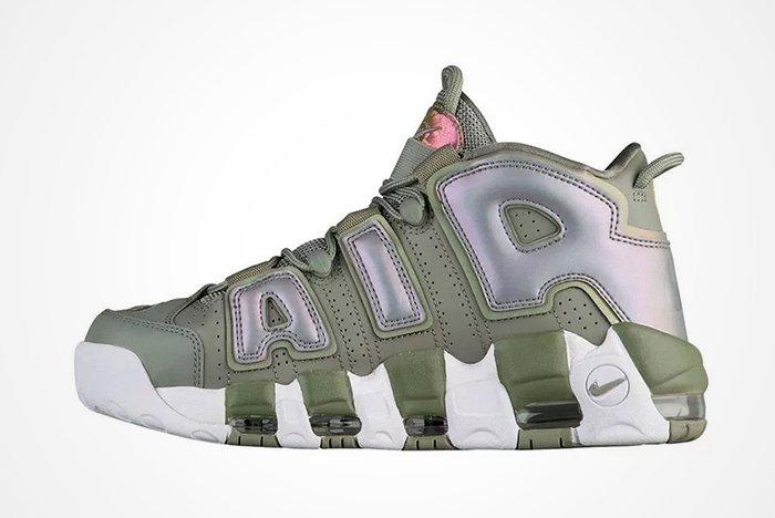 Nike Air More Uptempo Womens Shinefeature
