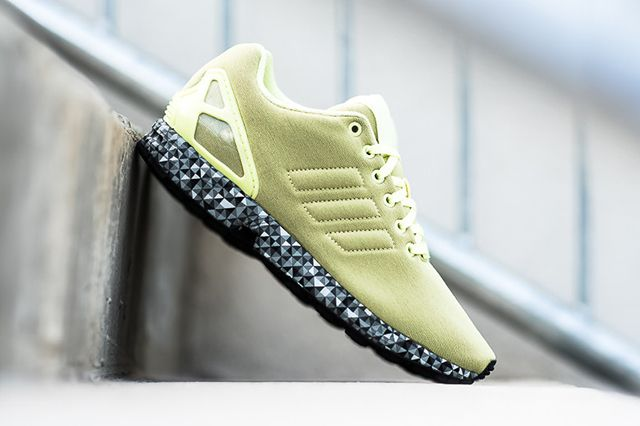 Adidas Zx Flux Frost Yellow2