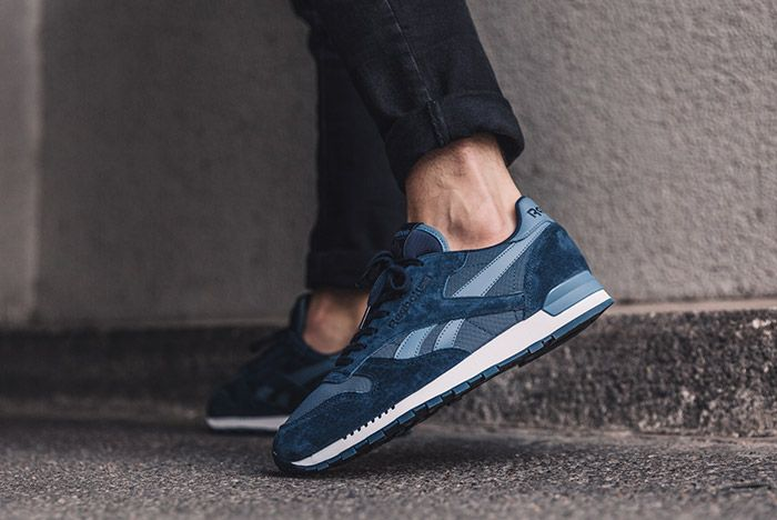 Reebok Classic Leather Clip Ele Navy Blue 1