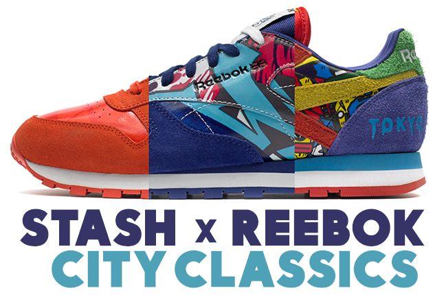 Stash Reebok City Classics 1
