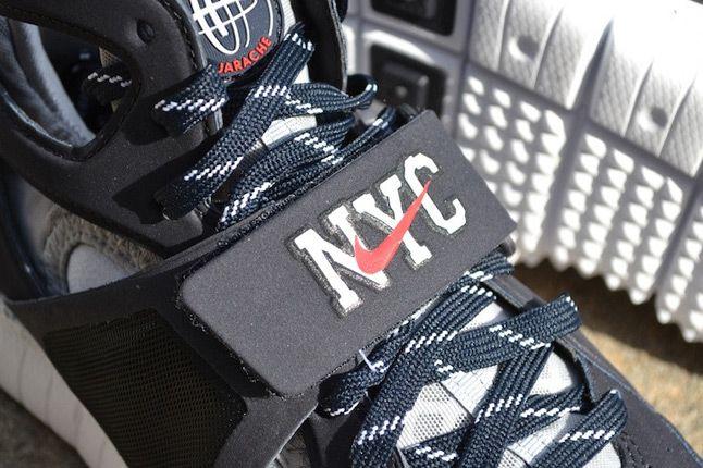 Nike Huarache Free Shield Yankees Strap 1