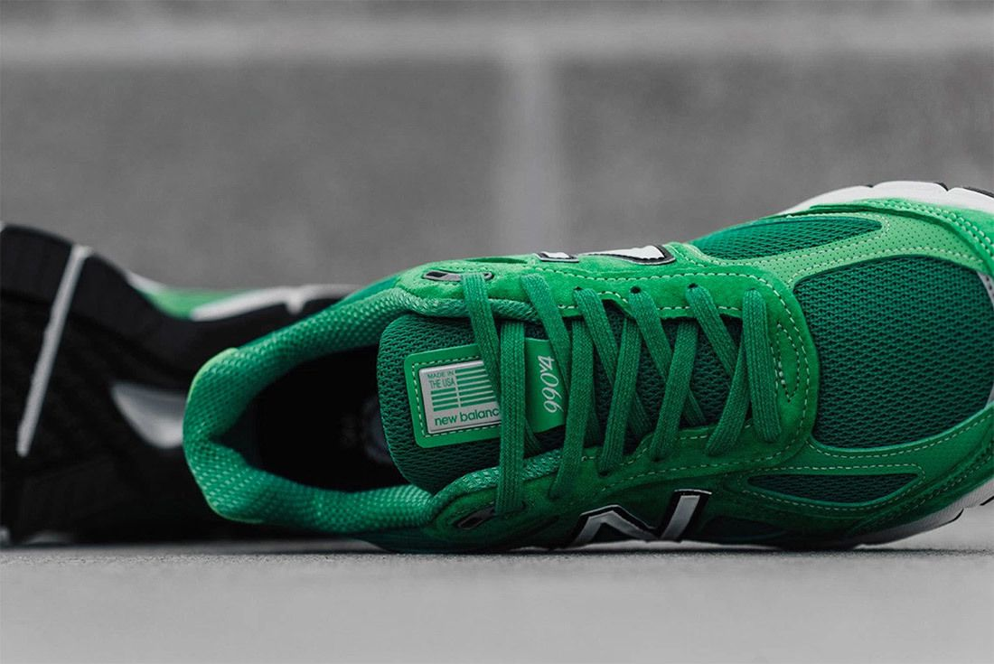 New Balance 990 V4 Green 3