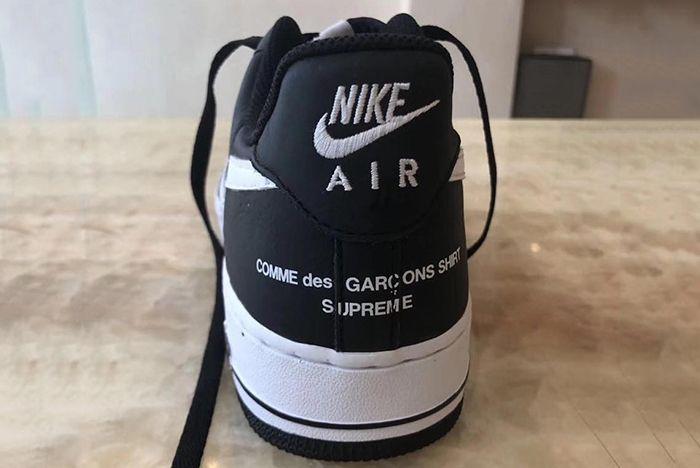 Supreme X Comme Des Garçons X Nike Air Force 1 Low 3 Sneaker Freaker