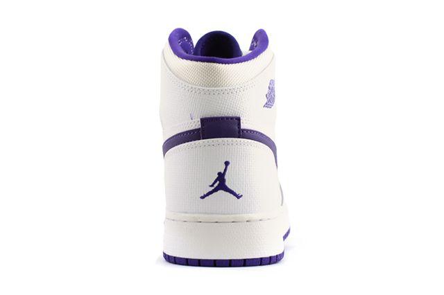 Air Jordan 1 High Gg White Purple 3