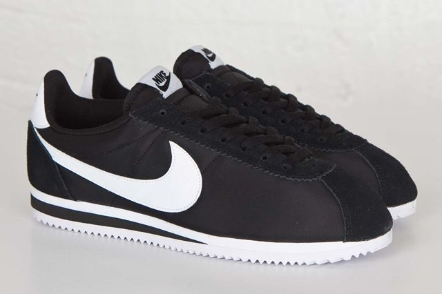 Nike Cortez Nylon Black White Sns Bump 2