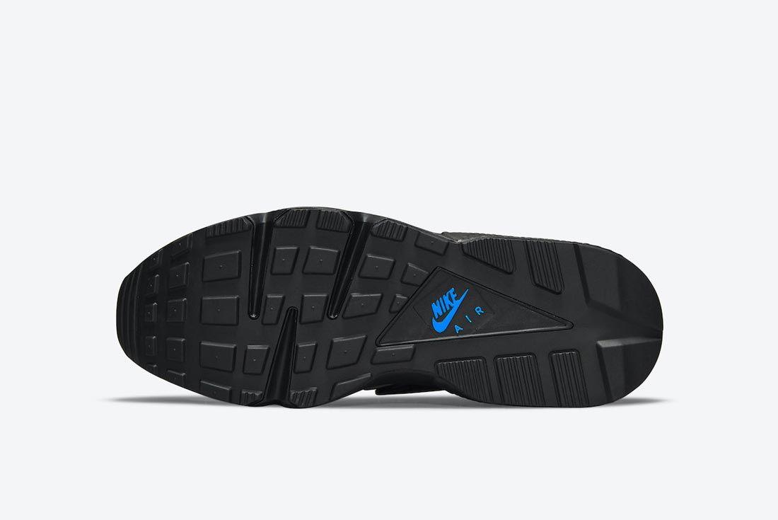 Nike Air Huarache Black/Grey/Blue