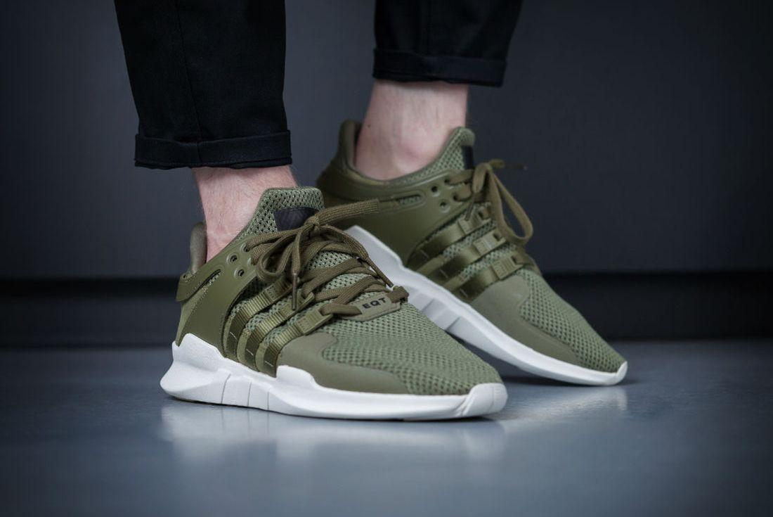 Adidas Eqt Support Adv Olive4