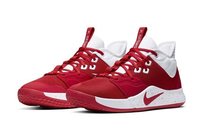 Nike Pg 3 Team Bank Red Pair