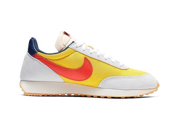 Nike Tailwind Team Orange And Tour Yellow Medial