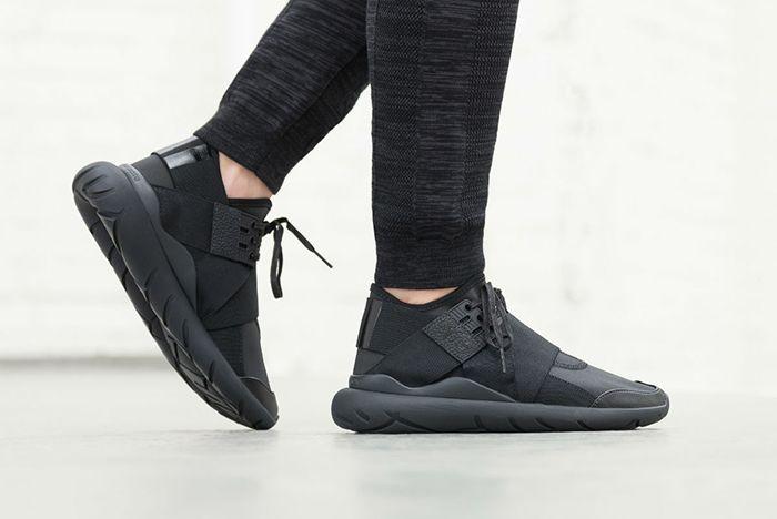 Adidas Y 3 Qasa Elle Lace Black Carbon2
