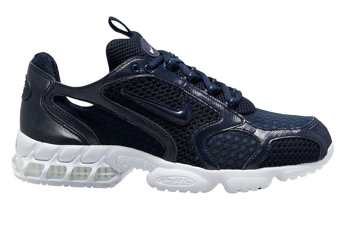 Nike Zoom Spiridon Cage 2 Navy Lateral