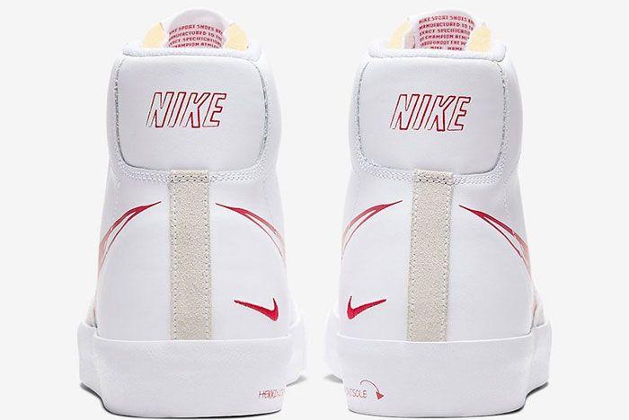 Nike Blazer Sketch Pack Heel 2