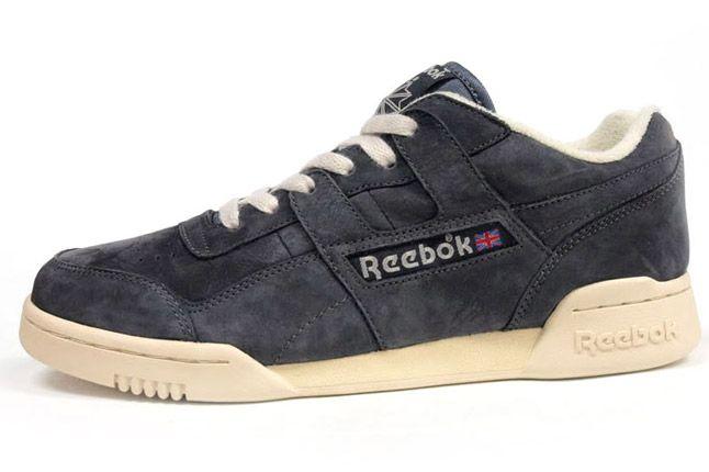 Reebok Workout Plus Vintage Grey Profile 1