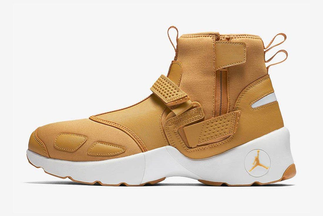 Air Jordan Trunner Lx High Golden Harvest Wheat Brown 7