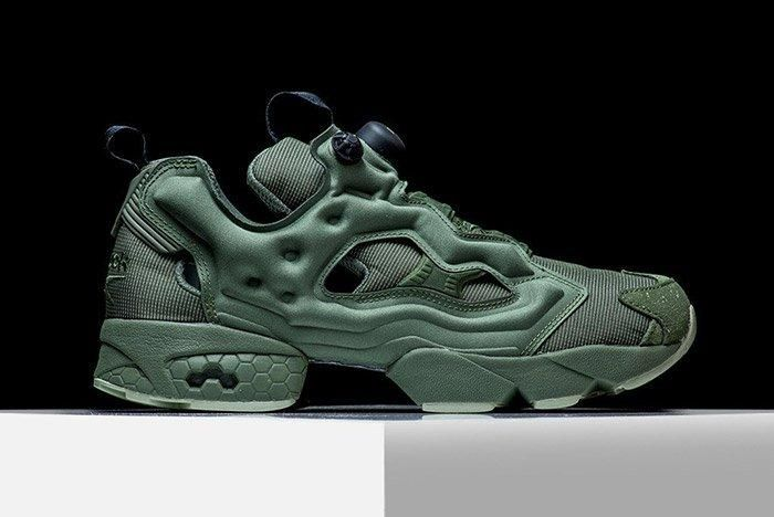 Reebok Insta Pump Fury Mtp Hunter Green 1