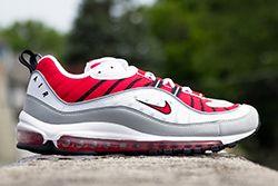 Nike Air Max 98 University Red Thumb