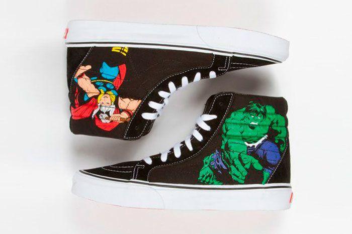 Vans Marvel Avengers Collection Sneaker Freaker 3