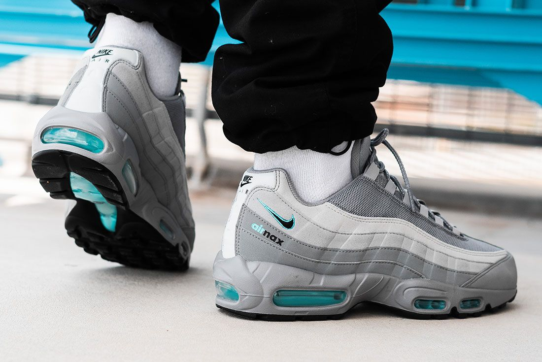 Jd Sports Exclusive Nike Air Max 95 Grey On Foot 2