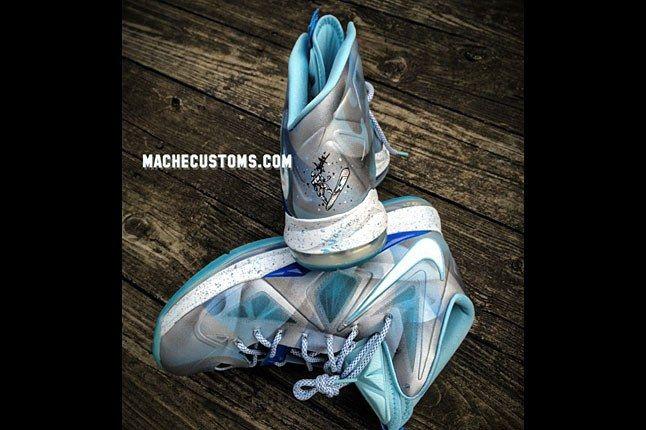 Silver Surfer Nike Sneaker 1