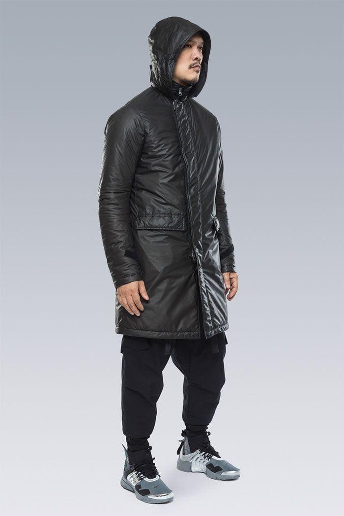 Acronym Nike Air Presto Grey Silver Black 3