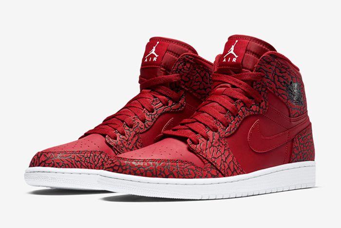 Air Jordan 1 High Red Elephant2