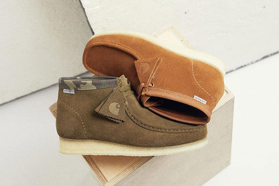 Carhartt Wip X Clarks Originals Wallabee