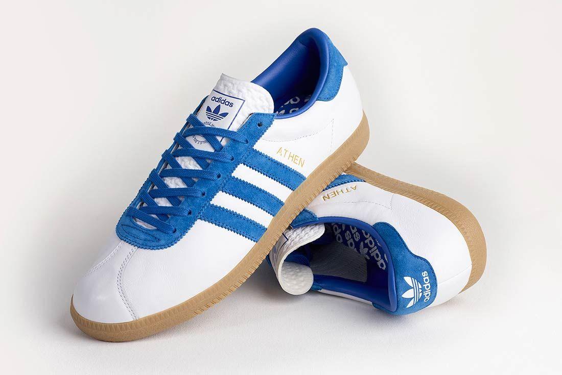 Adidas Athen Size Exclusive Whiteblue 2