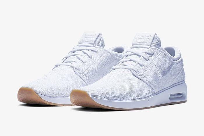 Nike Sb Air Max Janoski 2 White Pair
