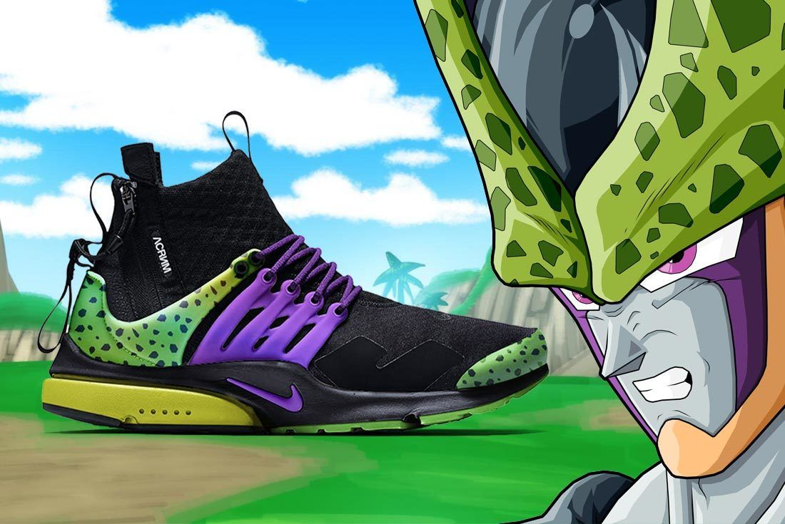Nike Dragon Ball Z Chad Manzo Presto Acronym Cell Hero