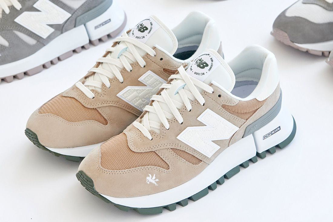 kith new balance 1300 campaign imagery