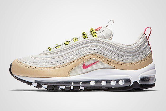 Nike Air Max 97 White Tan Neon Thumb