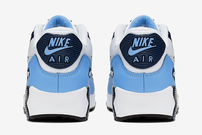 Nike Air Max 90 Unc Aj1285 105 Heels