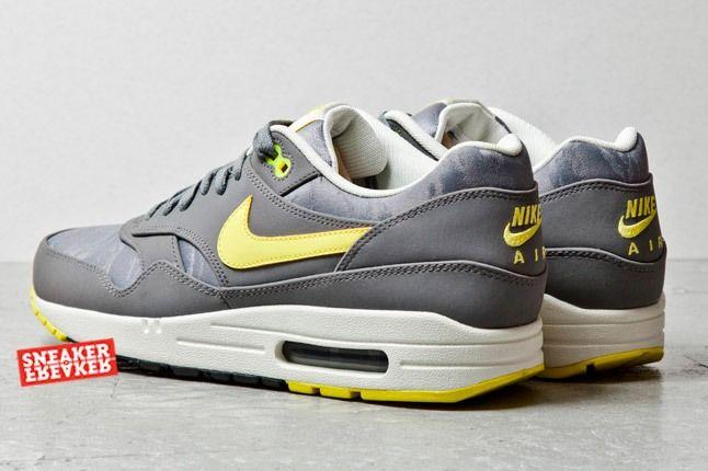Nike Air Max 1 Prm Cool Grey Sonic Yellow Jaquard 3