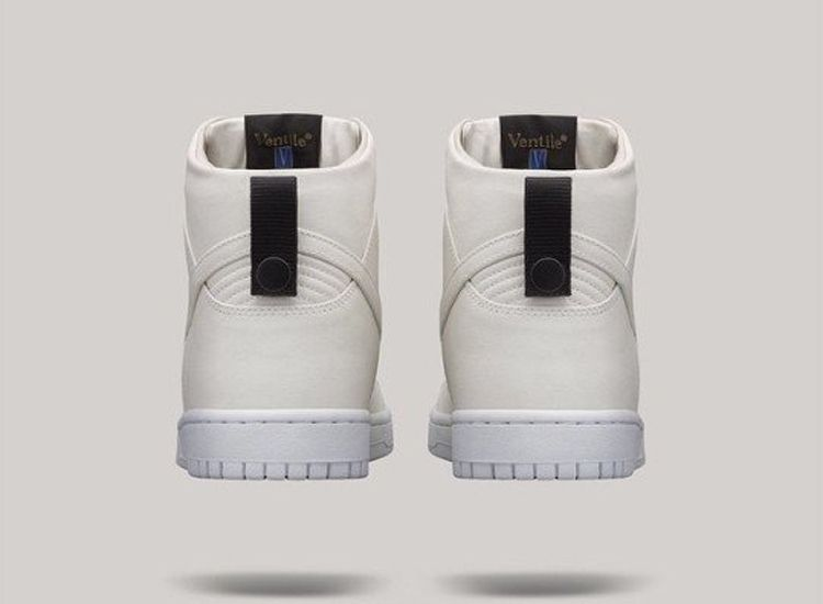 Dover Street Market Nike Dunk High Lux White 3