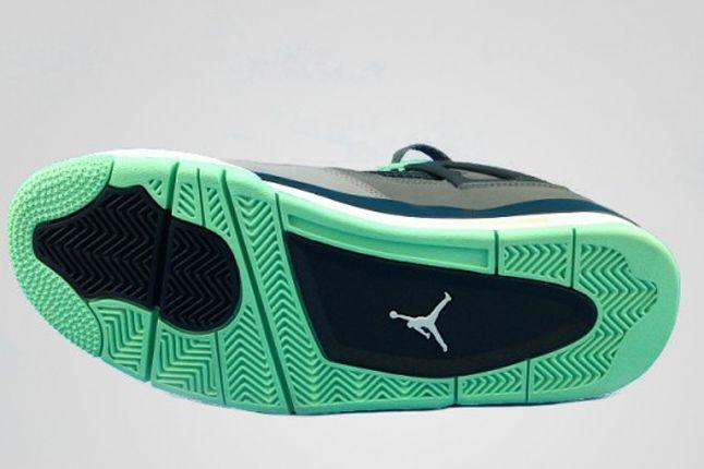 Air Jordan 4 Green Glow Outsole 1