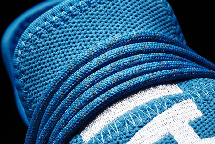 Pharrell Williams X Adidas Hu Nmd Blue3