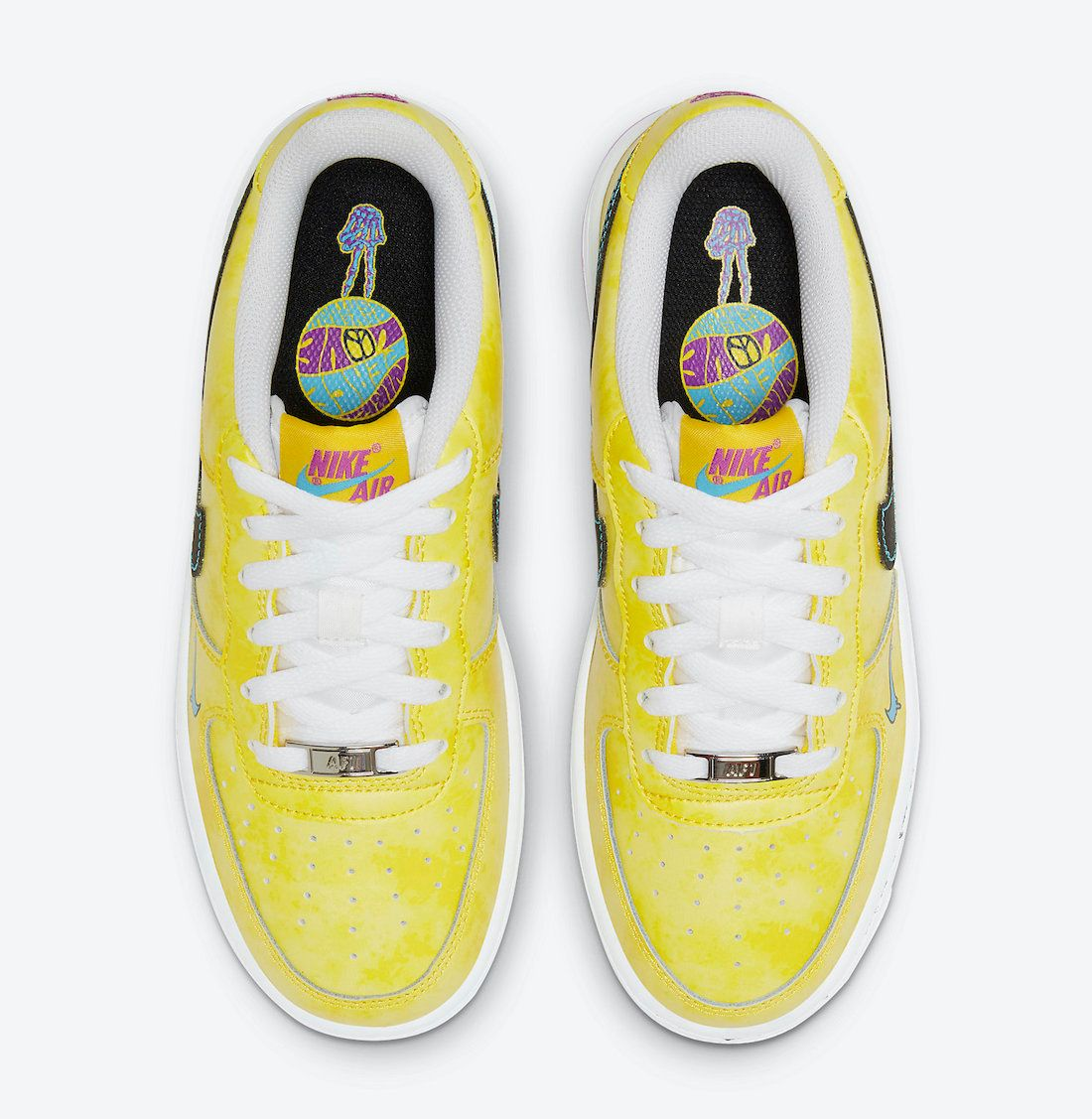 Nike Air Force 1 Peace Love and Basketball Top