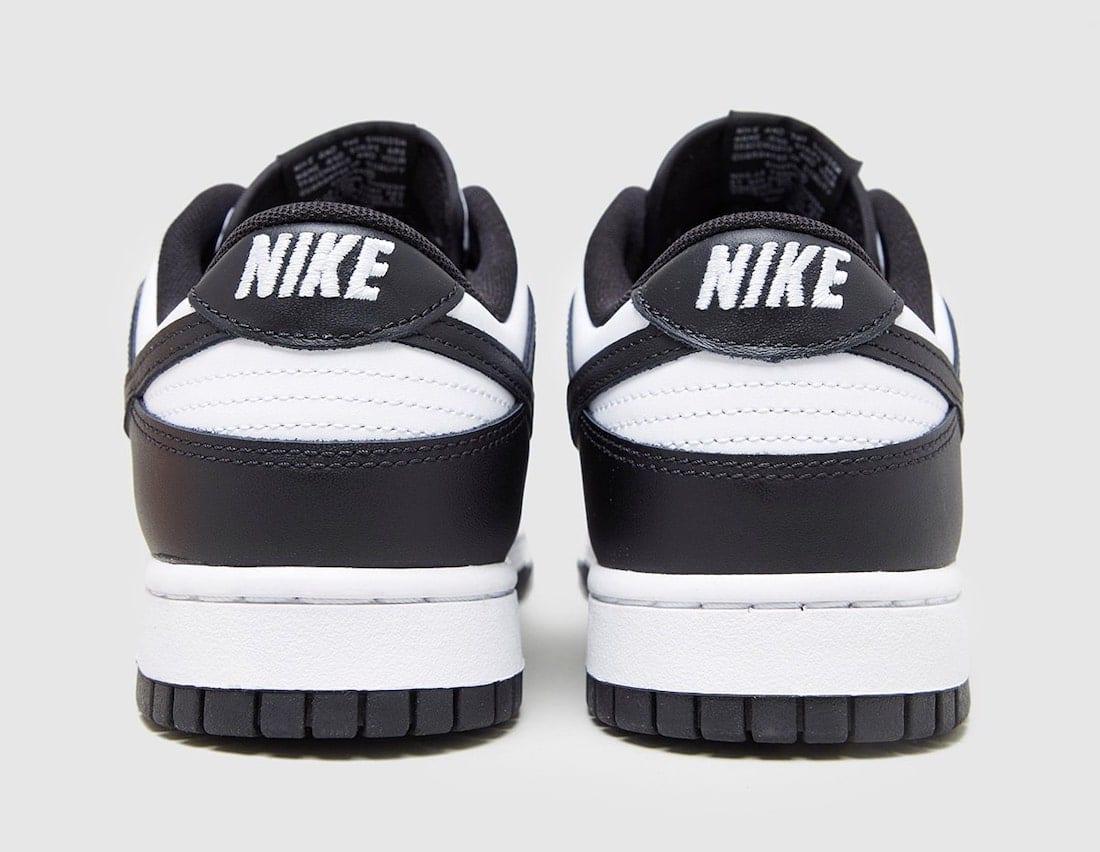 Nike Dunk Low Black White DD1391-100
