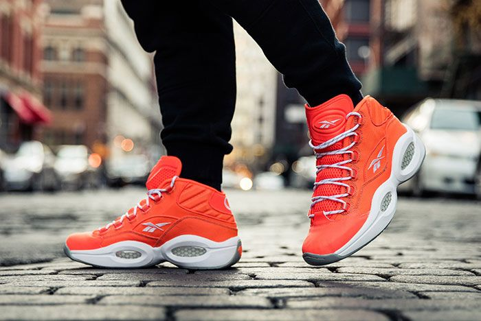 Reebok Question Mid Only The Strong Survive 6