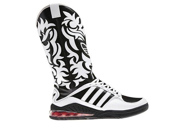 Adidas Originals Js Mega Softcell Cowboy Boots 01 1