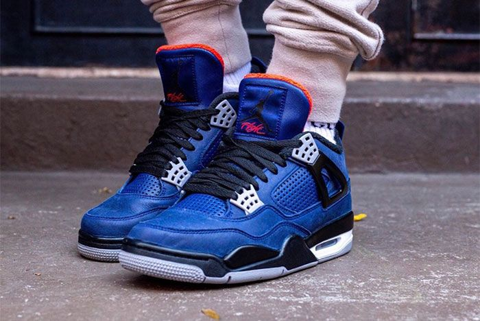 Air Jordan 4 Wntr Royal Blue Toe3